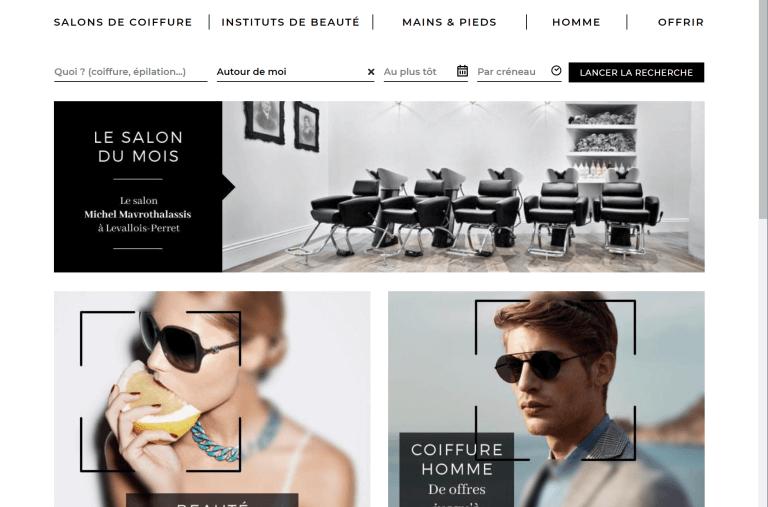 Développement d'un portail web pour les salons de coiffure et instituts de beauté