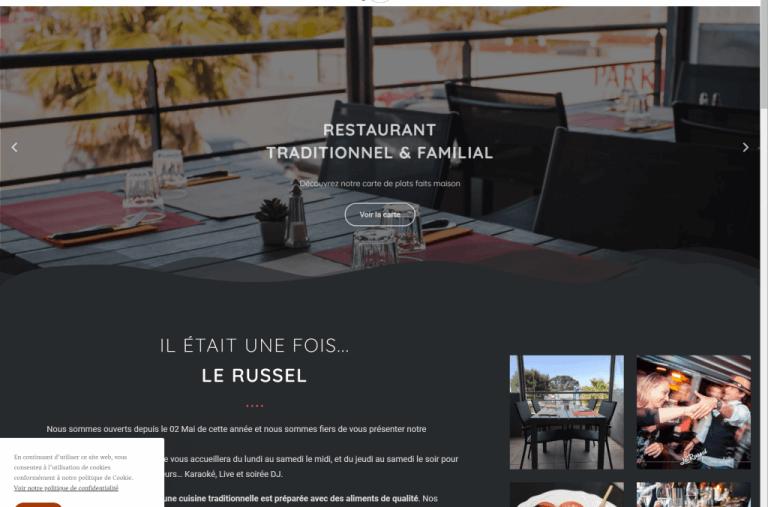 Création Site Internet pour Restaurant Karaoké